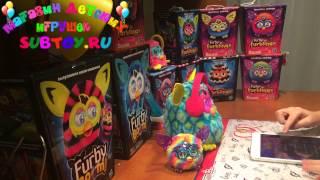 Furby Furblings Crystal Series Rainbow - Малышки Ферблинги кристальнои? серии радуга обзор от Анны
