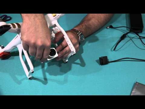 DJI Phantom 3 Gimbal Guard Remove & Attach Tutorial