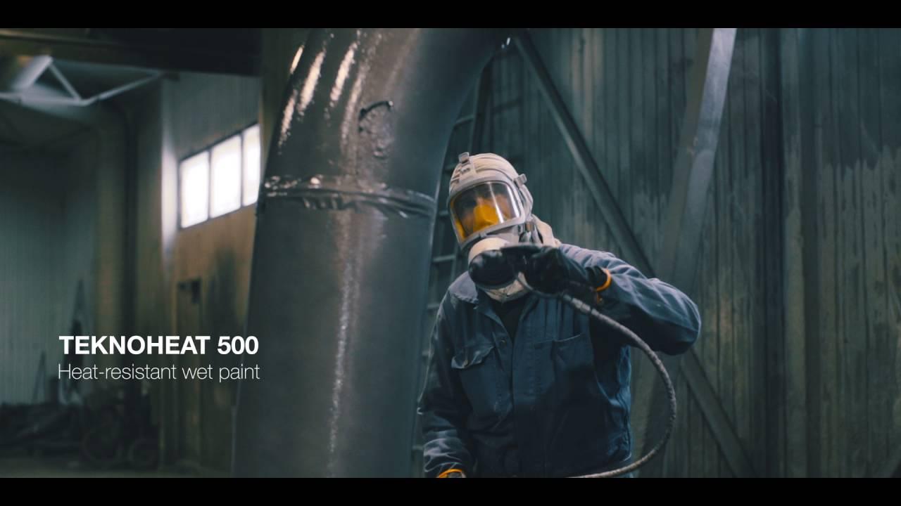 Heat-resistant coatings - Teknos
