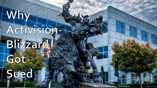 Почему подали в суд на Activision Blizzard. ActiBlizzWalkout