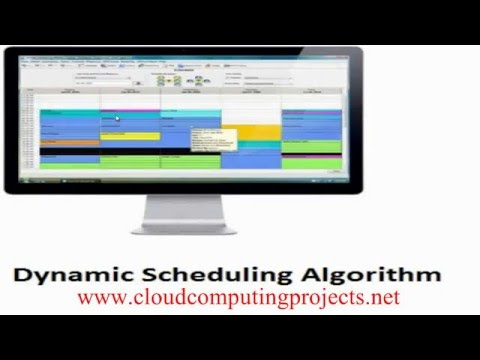 DYNAMIC SCHEDULING ALGORITHM CLOUDSIM PROJECTS