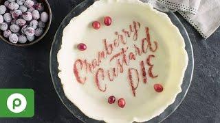 Cranberry Custard Pie: A Thanksgiving Recipe from Publix