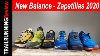 New Balance - Gama de zapatillas Trail Running 2020