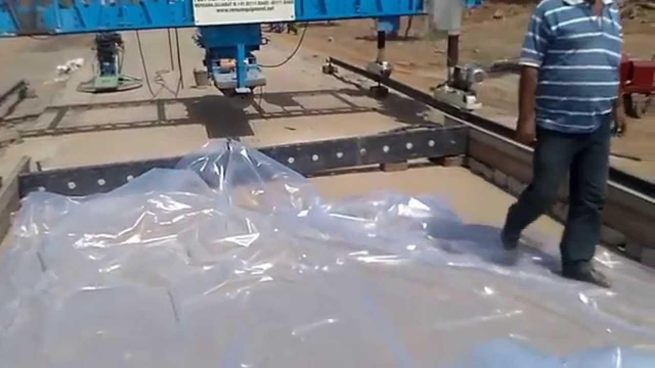 Cement Concrete Pavement Paver Civil Engineering Youtube