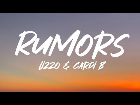 Lizzo – Rumors (Lyrics) feat. Cardi B