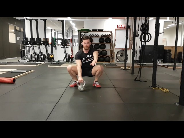 Overhead mobilty from squat position