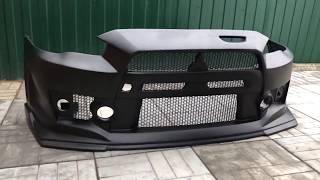 Передний бампер FQ-400  для Mitsubishi Lancer X