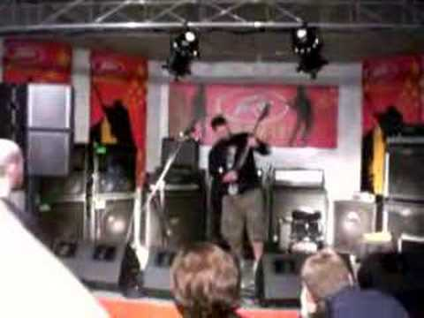 Chimaira's Rob Arnold @ NAMM '08