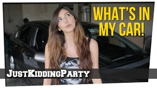 What's In My Car ft. Tiffany