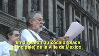 Un état d´urgence nationale: Javier Sicilia fait appel au peuple méxicain