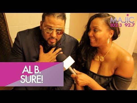 Al B. Sure! Talks About What Donnie Simpson Means To Him