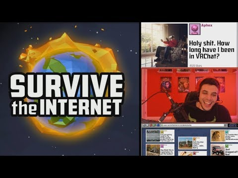 SURVIVE THE INTERNET | We Laughed way too Much! (The Jackbox Party Pack 4)