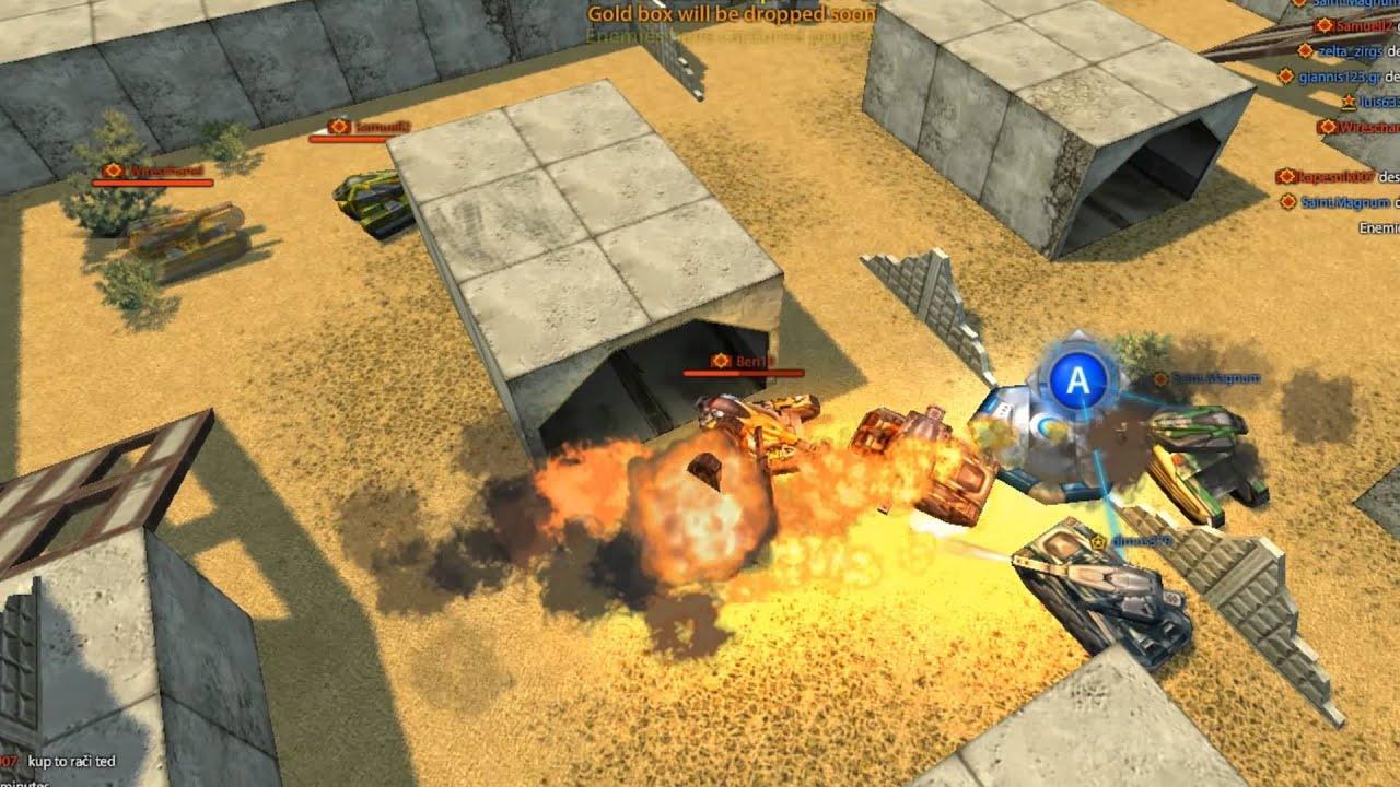 Tanki online game play video