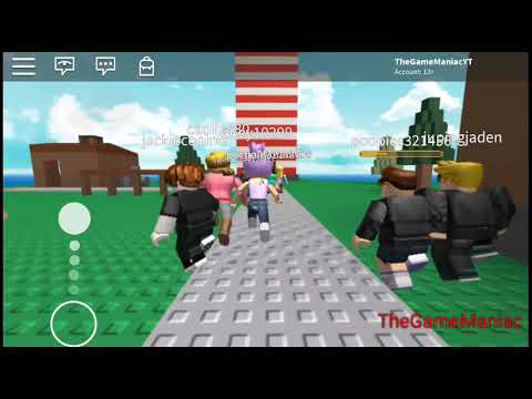Roblox-Survive Natural Disasters-I HATE Flash Floods