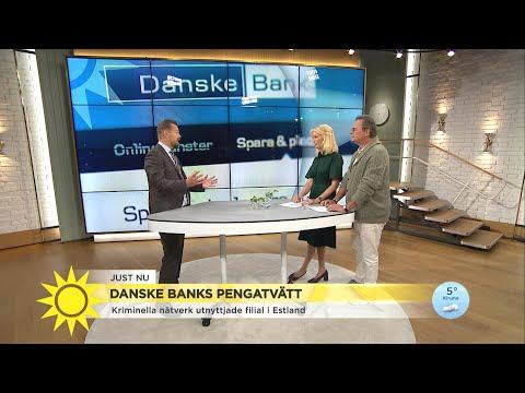 """Danske banks pengatvätt: """"Det här skadar banken under lång tid"""" - Nyhetsmorgon (TV4)"""