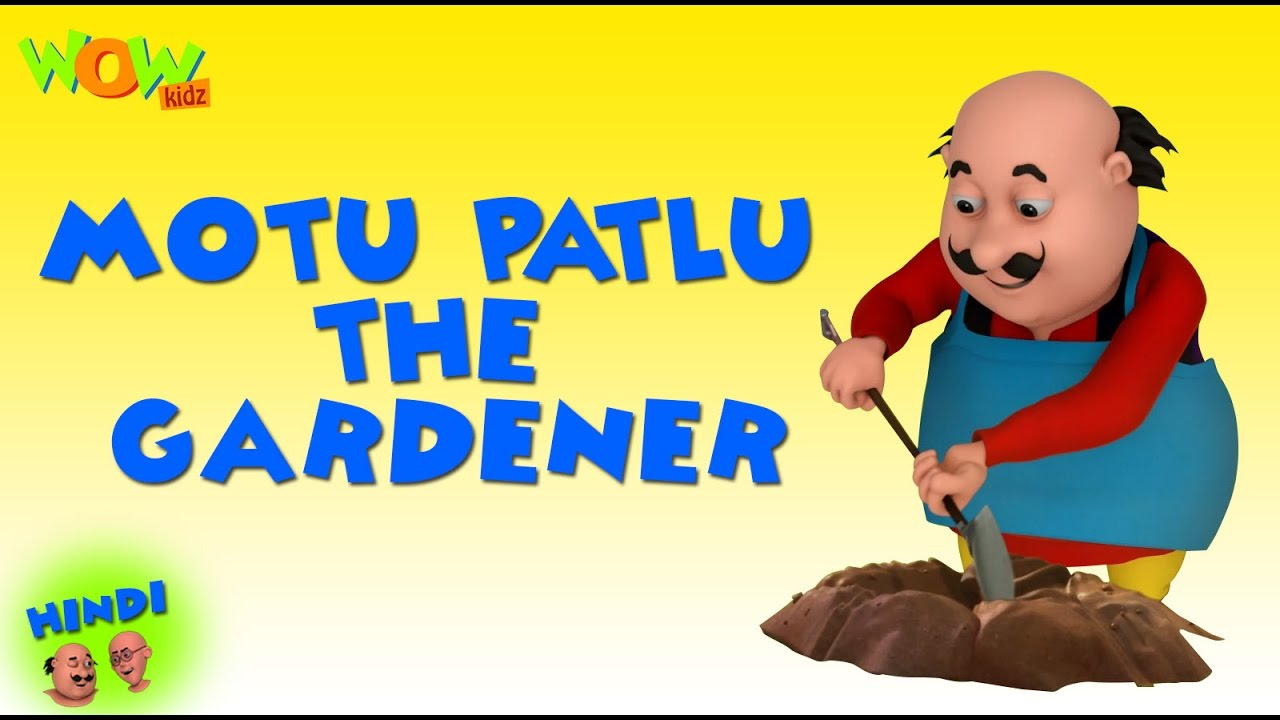 Motu Patlu The Gardener Motu Patlu In Hindi With English Spanish
