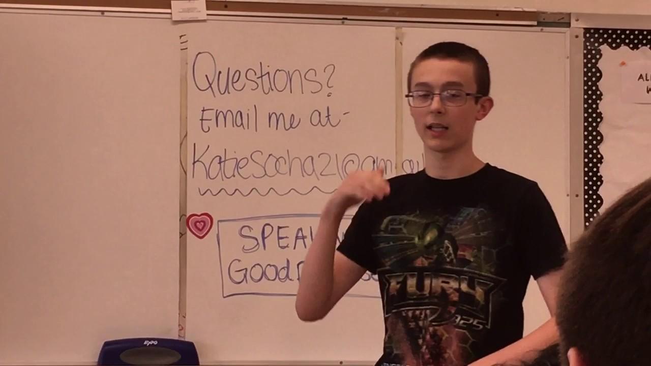 homework should be banned speech