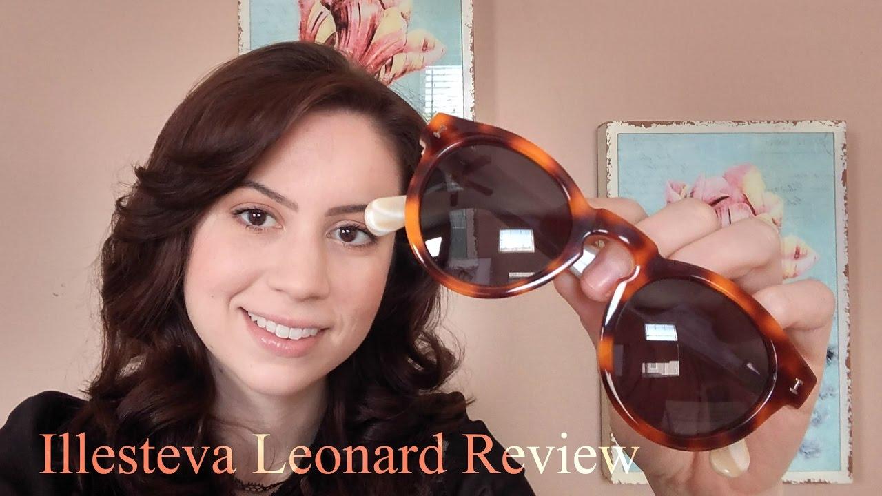 8b20bdfcf513 Illesteva Leonard Review + Outtakes - YouTube
