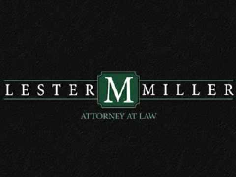 Lester Miller, Attorney at Law - Radio Spot - Who Ya Gonna Call?