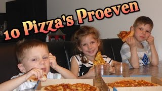 10 VIEZE PIZZAS PROEVEN!?