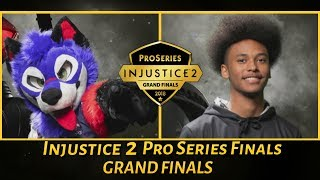 Injustice 2 Pro Series Finals 2018: SonicFox Vs Rewind (Grand Finals)