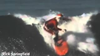 Rick Springfield - Deck The Halls (With Boughs Of Longboards)