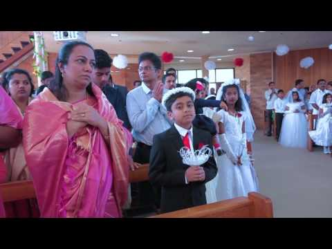 St. Thomas Syro Malabar Holy Communion & Confirmation 2016