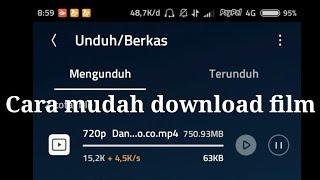 Gambar cover Cara Download Film DANUR 100% work