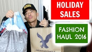 Men's Fashion Haul 2016!!!