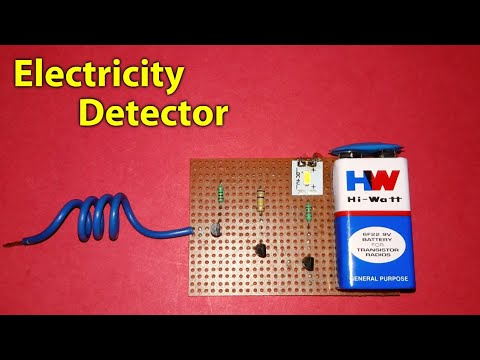 Electricity Detector:AC Line Tester without Connect