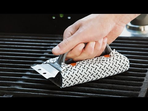 Wipe last night's dinner off your grill.