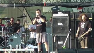 Napalm Death - Nazi Punks Fuck Off (Dead Kennedys Cover) 1 Jul 2013 Athens, Greece