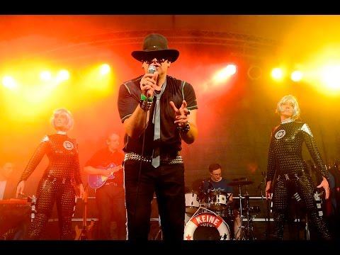 Udos Lindenwerk - Tourauftakt 2016 Open Air in Merzig / Saarland - Udo Lindenberg Tribute Band