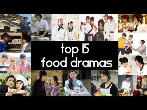Top 15 Food Dramas  Top 5 Fridays