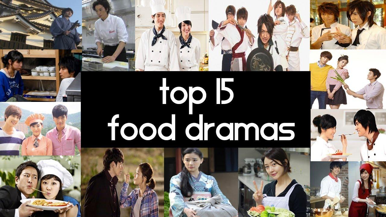 J Drama Beautiful top 15 food dramas - top 5 fridays - youtube