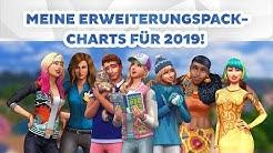Meine Erweiterungspack-Charts für 2019! | sims-blog.de