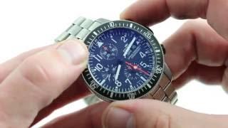 Фортіс Б-42 Космонавтів Хронограф 659.27.141 Розкішні Годинник Огляд