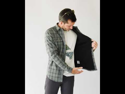 LS550 Campfire Flannel Overshirt