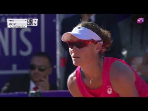 2017 Internationaux de Strasbourg Semifinals | Samantha Stosur vs Peng Shuai | WTA Highlights