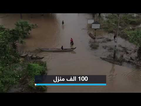 فيضانات تغمر القرى في المناطق الساحلية بكمبوديا  - نشر قبل 4 ساعة