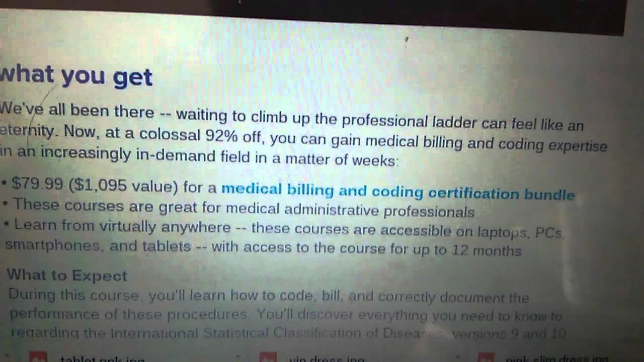 Medical Billing Coding Online Certification Youtube