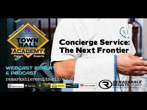 Town Hall  Concierge Service   The Next Frontier of Customer