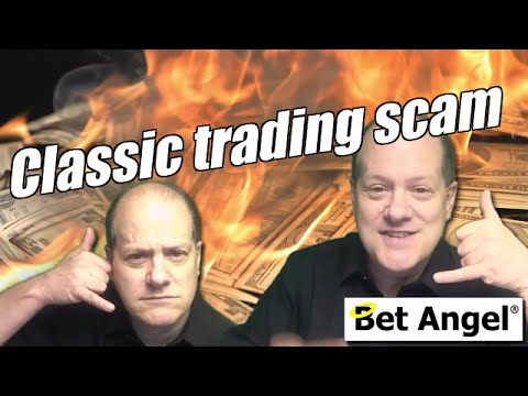 Classic Betfair trading scam