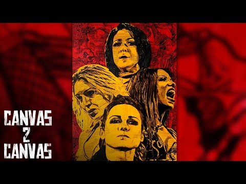 WWE's Four Horsewomen are ready for action: WWE Canvas 2 Canvas