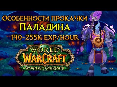 Паладин. Особенности прокачки World of Warcraft: Burning Crusade Classic