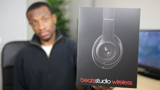 Beats Studio Wireless Unboxing(My unboxing of the new bluetooth headphones by Beats, the new Beats Studio Wireless. Find it here: http://amzn.to/1cmdWKo Liked this video? Then hit the ..., 2014-01-01T19:18:18.000Z)