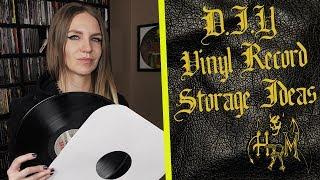 DIY Vinyl Record Storage Ideas