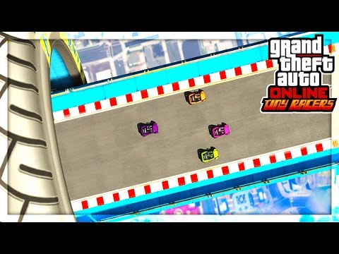 GTA 5 TINY MICRO RACING! (GTA 5 Versus)