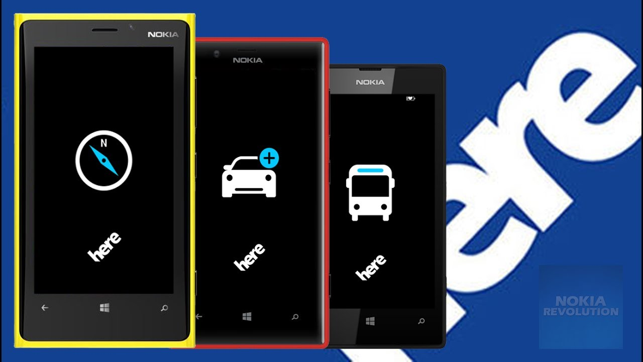 Here Maps y Here Drive para Windows 10 Mobile