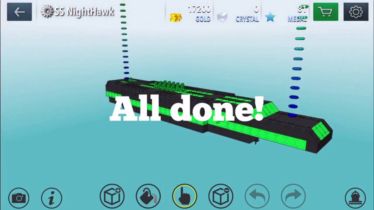 How to build a submarine in warship craft